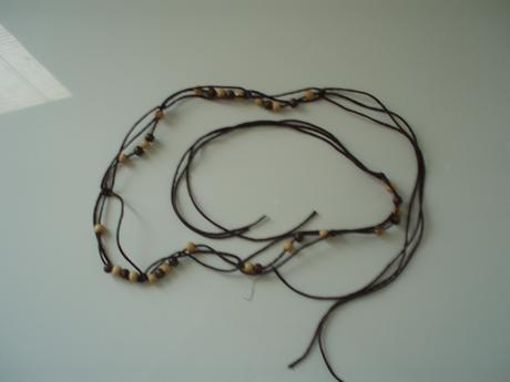 Indiánsky opasok s korálkami,