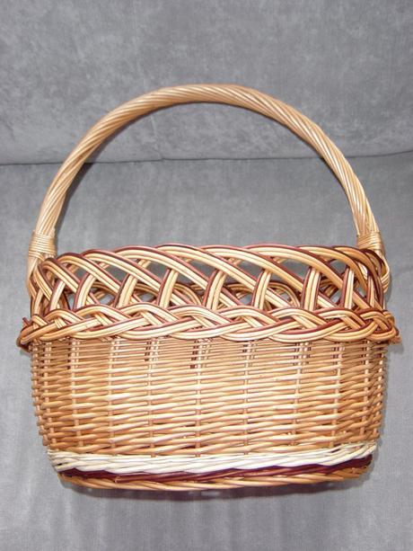 Košík na svadobný piknik,