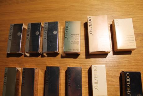 Shiseido krémy,