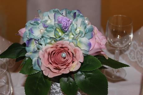 kytičky na svadobné stoly,