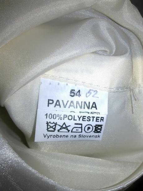 Svadobna vesta a kravata Ivora 54-52, 54