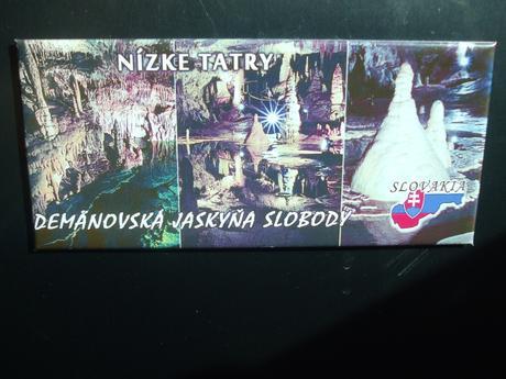 Magnetka Nízke Tatry-Jasná na chladničku,