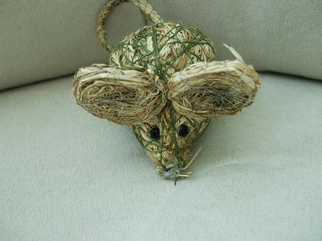 Myš-dekorácia,