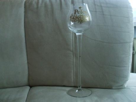 Svadobný pohár PETER na dlhej stopke-40 cm vysoký,