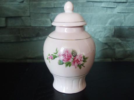 Zlato ružová keramika-cena za 3 kusy,