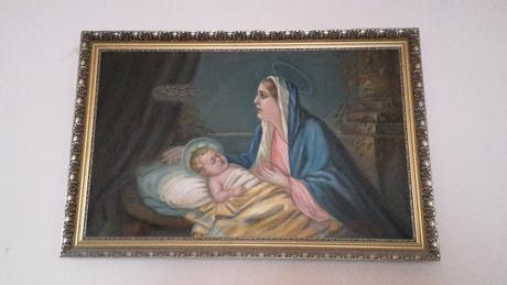 Starozitny obraz, olejomalba, František Farman,