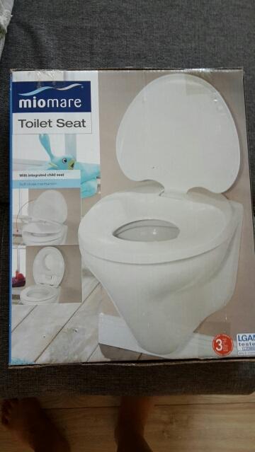 WC doska s detskym sedlom,