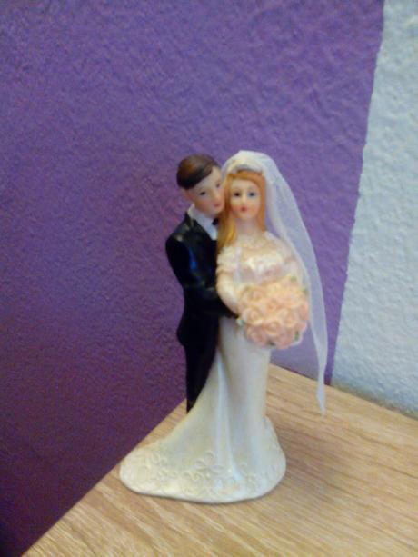 Figurka na svatebni dort,