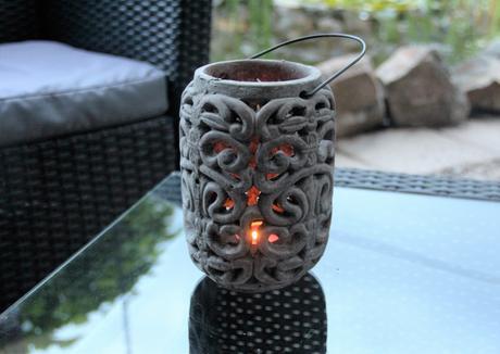 Keramická lucerna,