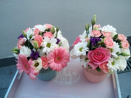 Krajkový kvetináč,