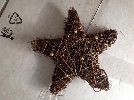 Vianočná hviezda-dekorácia,