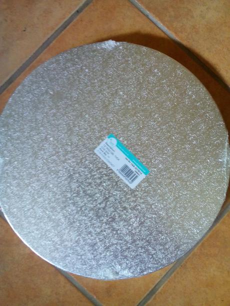 podnos pod tortu okruhly, hrubka 3 mm,