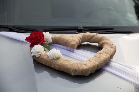 Srdce na auto,