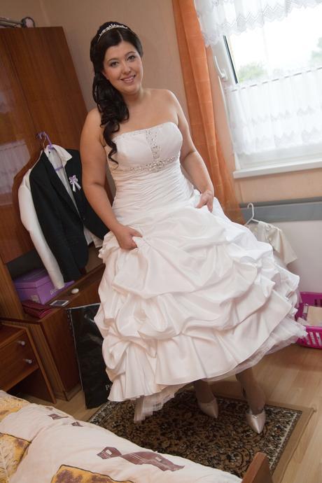 svatební šaty vel.44, 44
