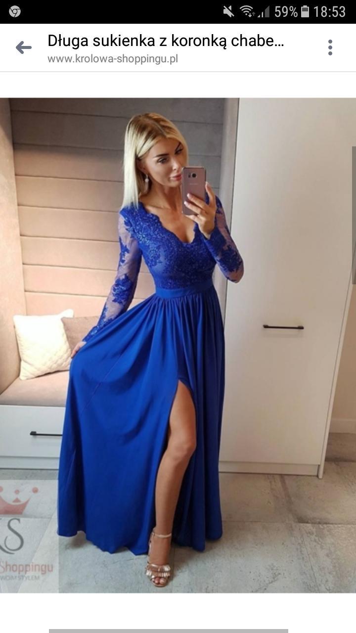 9391550cb627 Modré spoločenské šaty
