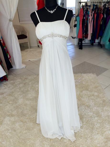 Empírové svadobné šaty, zn. Eddy K, 38