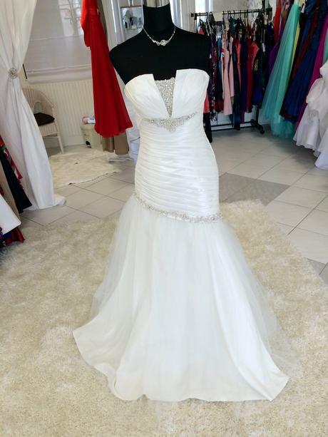 Svadobné šaty zn. Eddy K, 38