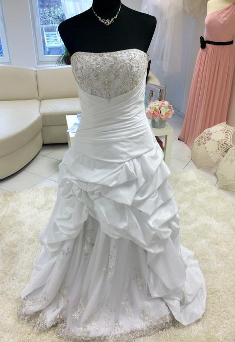 Svadobné šaty zn. Eddy K., 40
