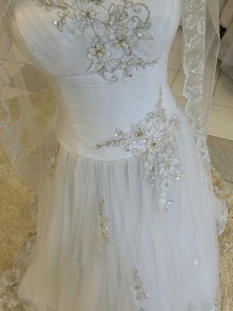 Svadobné šaty zn. Romantica, 40