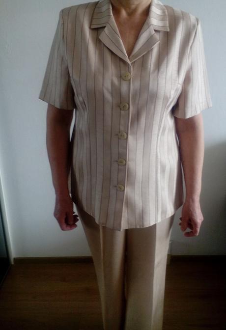 Damsky nohavicovy kostym, 46