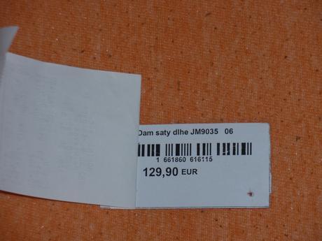 Cyklámenové šatky značky MARINI, 36