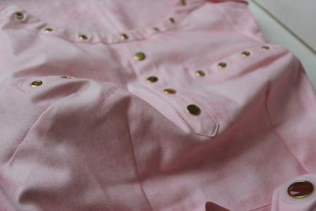 Šaty svetloružovej farby - 36/S, 36