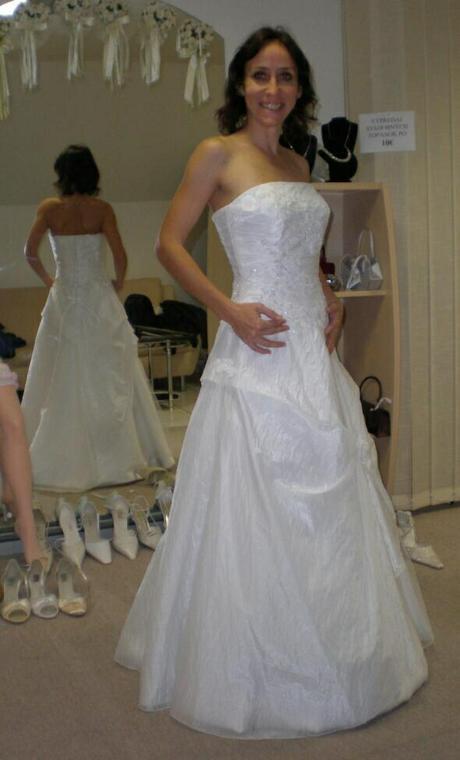 Svadobné šaty veľ.36, 36