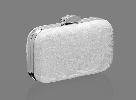 Ivory svadobná kabelka,
