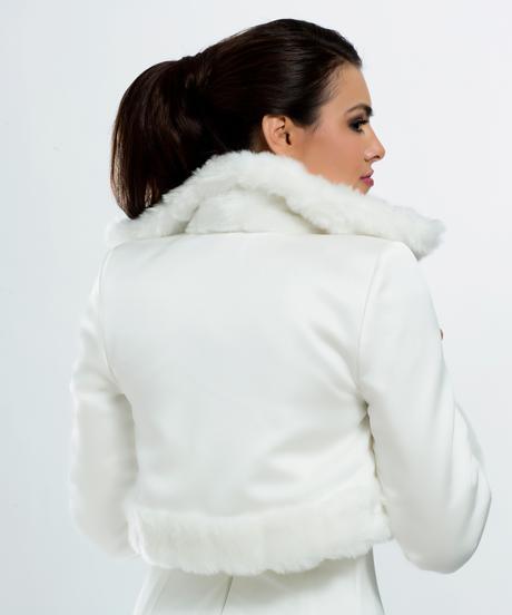 Kožušinkový kabátik,