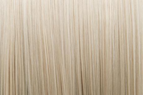 Ľudské Clip in vlasy Platinová blond 50cm,