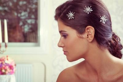 Svadobné špirálky do vlasov,