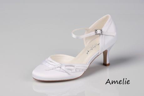Svadobné topánky Amelie, 38