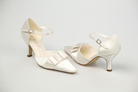 Svadobné topánky Andrea - posledné kusy, 35