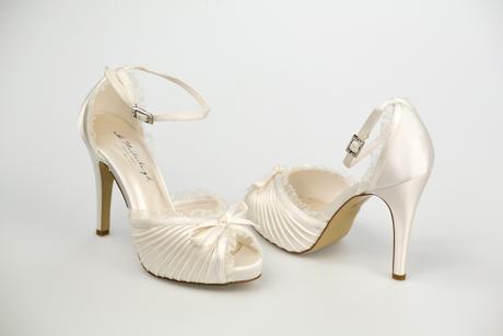 Svadobné topánky Charlotte, 38