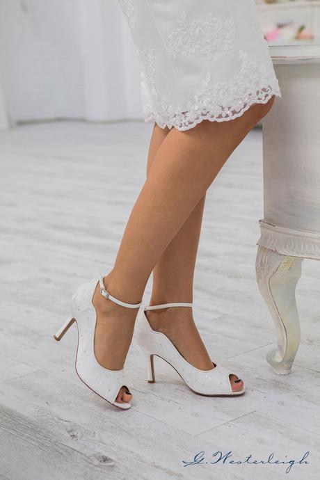 Svadobné topánky Michelle, 38