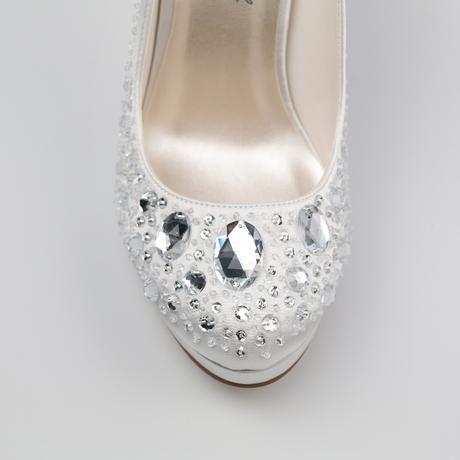 Svadobné topánky - posledné kusy, 40