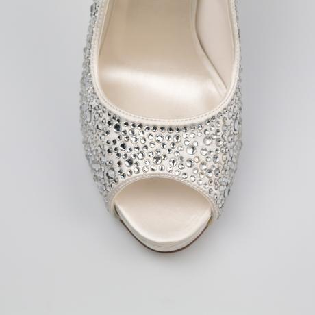 Svadobné topánky Roxanne, 38