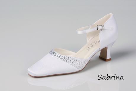 Svadobné topánky Sabrina - posledné kusy, 41
