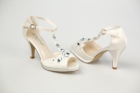 Svadobné topánky Sandra, 40