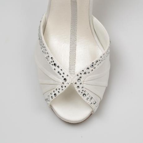 Svadobné topánky Tiffany, 39