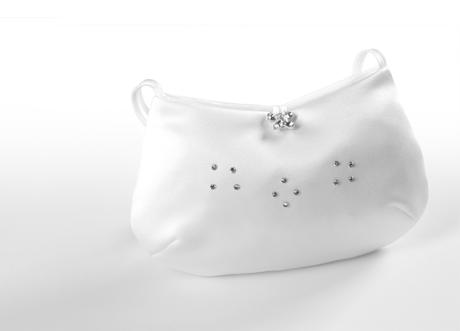Swarovski svadobná kabelka,