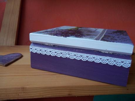 Levanduľová krabička,
