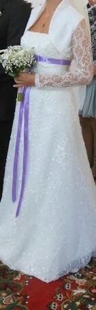 svadobné šaty La sposa 36-38, 36