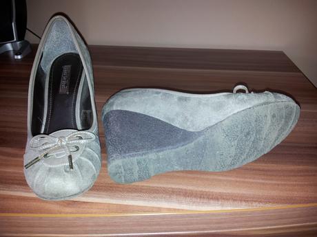 Šedohnedé topánočky, 36