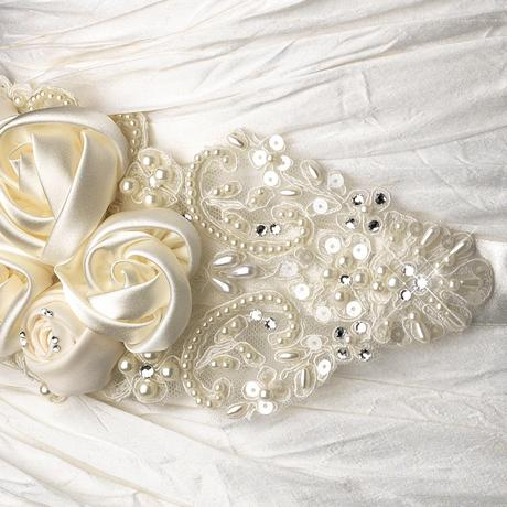 Opasok na svadobné šaty, 36