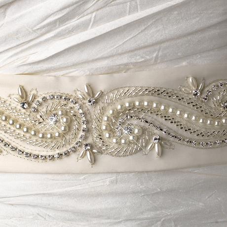 Opasok na svadobné šaty, 38