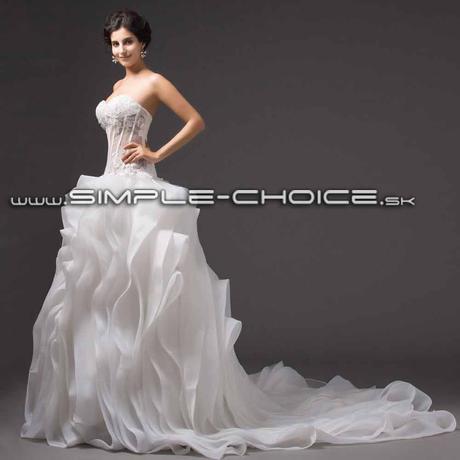 Sexi exkluzívne svadobné šaty, 34