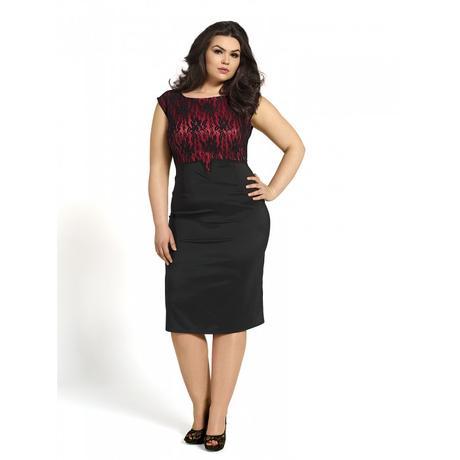Spoločenske šaty s krajkou, 48
