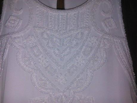 Biele šaty(3 kusy) , 36