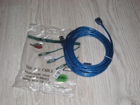 USB kabel,